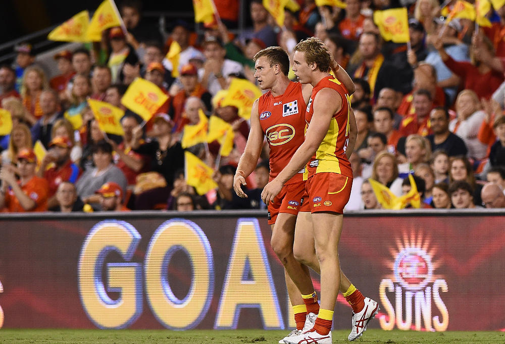 Tom Lynch Tom J Lynch Sam Day Gold Coast Suns AFL 2015
