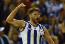 Jarrad Waite North Melbourne Kangaroos 2016 AFL <br /> <a href='http://www.theroar.com.au/2016/04/30/so-do-you-rate-north-melbourne-yet/'>So, do you rate North Melbourne yet?</a>