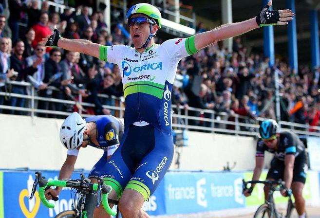 Mathew Hayman Paris-Roubaix cycling