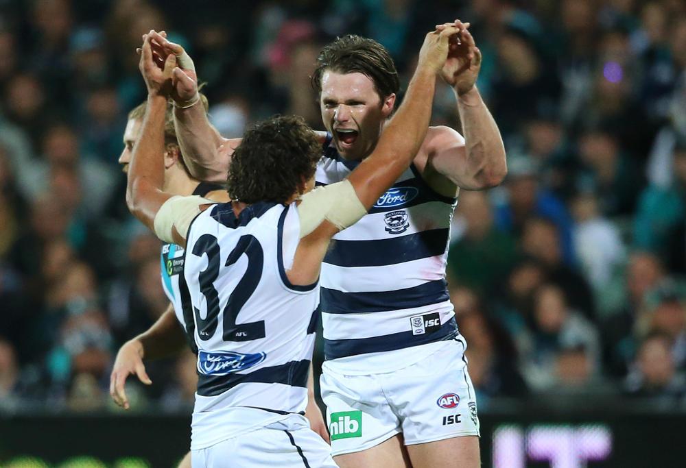 Patrick Dangerfield Geelong Cats AFL 2016
