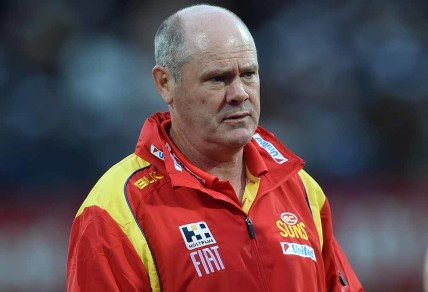 Coach Rodney Eade has endured some horrible injury luck, but the Suns should be in better shape.  (AAP Image/Julian Smith)