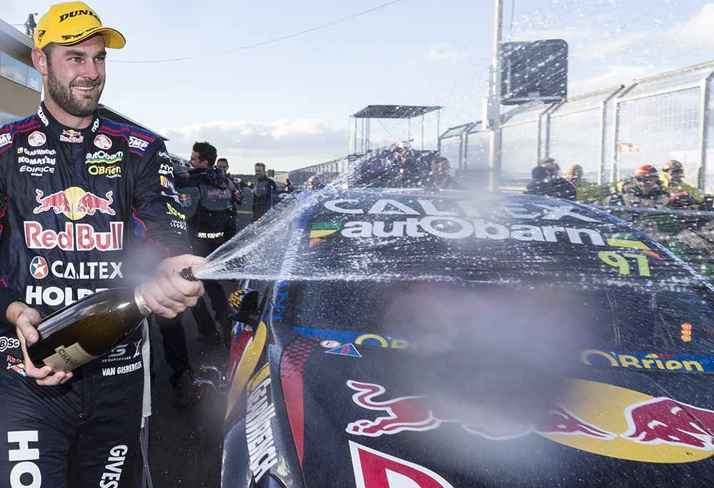 Shane Van Gisbergen wins the 2016 Tasmanian Super Sprint