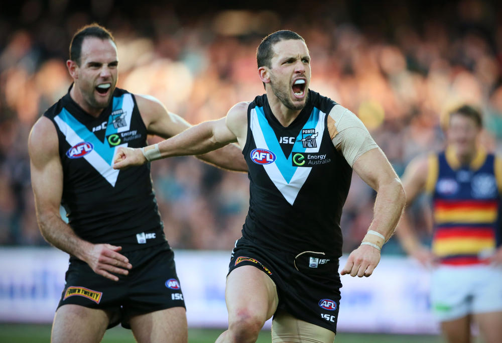 Travis Boak Port Adelaide Power AFL 2015