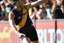 Tyrone Vickery Richmond Tigers 2015 AFL tall <br /> <a href='http://www.theroar.com.au/2016/04/30/richmond-tigers-vs-port-adelaide-power-afl-live-scores-blog-2/'>Richmond Tigers vs Port Adelaide Power highlights: Port go 3-3 as Tiger struggles continue</a>