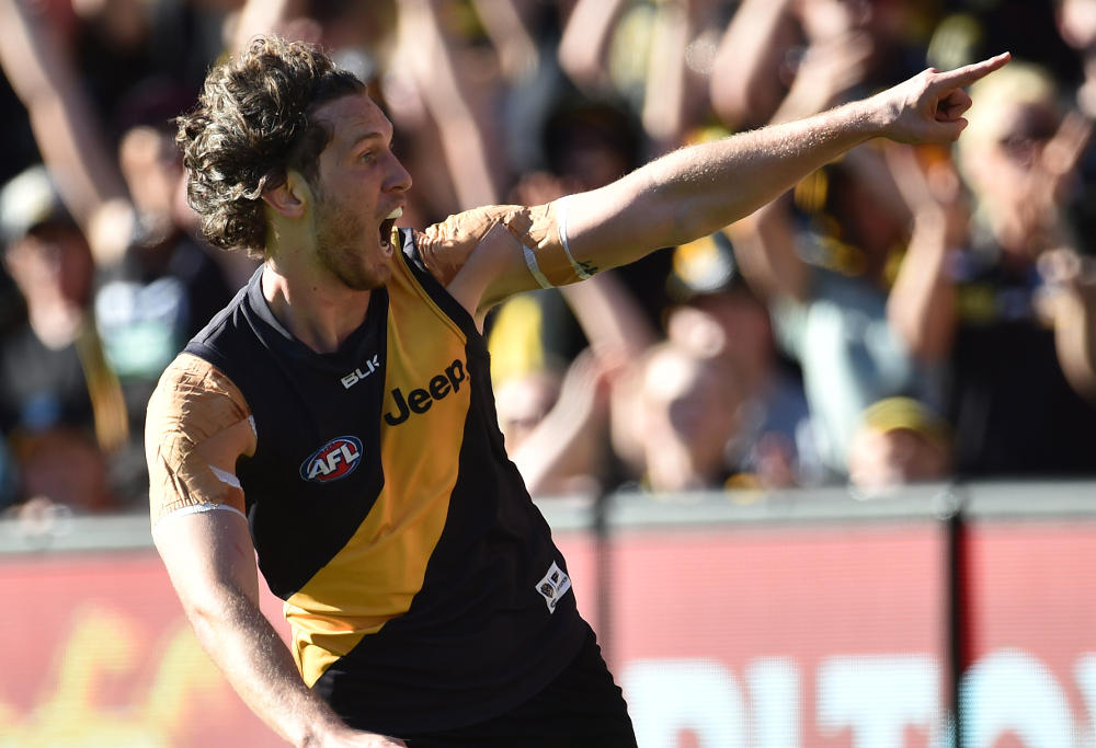 Tyrone Vickery Richmond Tigers 2015 AFL