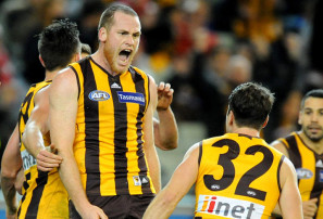Jarryd Roughead eyeing off pre-season AFL return