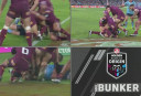 Bunker decision for State of Origin <br /> <a href='http://www.theroar.com.au/2016/06/01/watch-bunker-denies-morris-match-defining-decision/'>WATCH: Bunker denies Josh Morris a try in match-defining decision</a>
