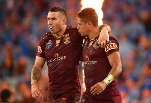 Queensland coach Kevin Walters admits moving Darius Boyd to centres a risk