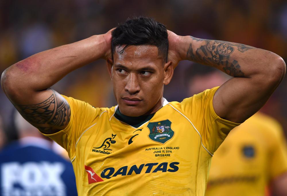 Israel Folau Australia Wallabies Rugby Union 2016