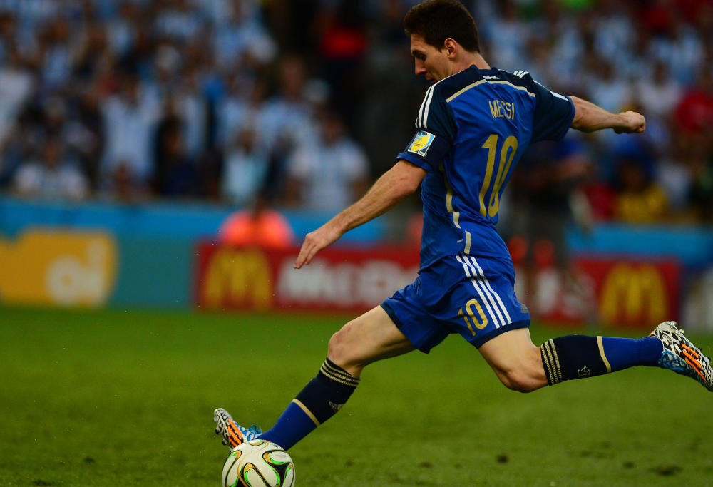 Lionel Messi Argentina Football World Cup 2014