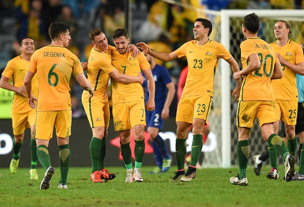 Matthew Leckie Australia Socceroos 2016 Football