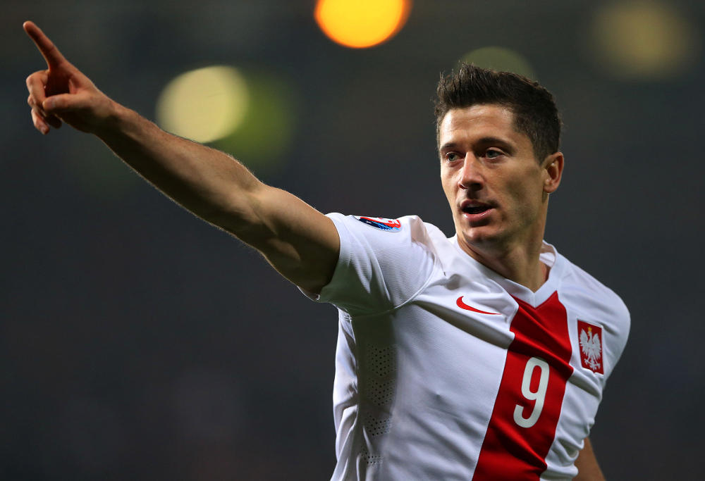 Robert Lewandowski Poland Football 2016