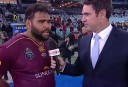 Sam Thaiday <br /> <a href='http://www.theroar.com.au/2016/06/02/sam-thaiday-compares-fumbling-grinding-origin-win-to-losing-virginity-internet-literally-breaks-well-at-least-nrl-com/'>Sam Thaiday compares fumbling, grinding Origin win to losing virginity, internet reacts</a>