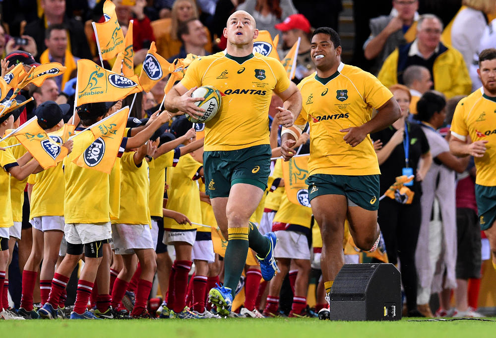 Stephen Moore Wallabies Australia Rugby Union 2016