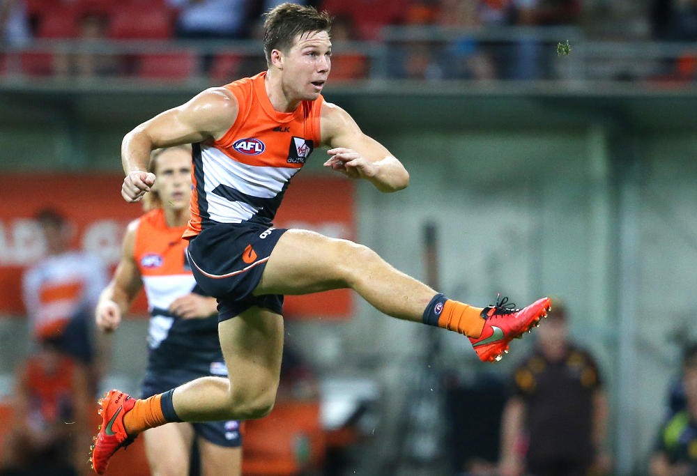 Toby Greene GWS Giants Greater Western Sydney Giants AFL 2016