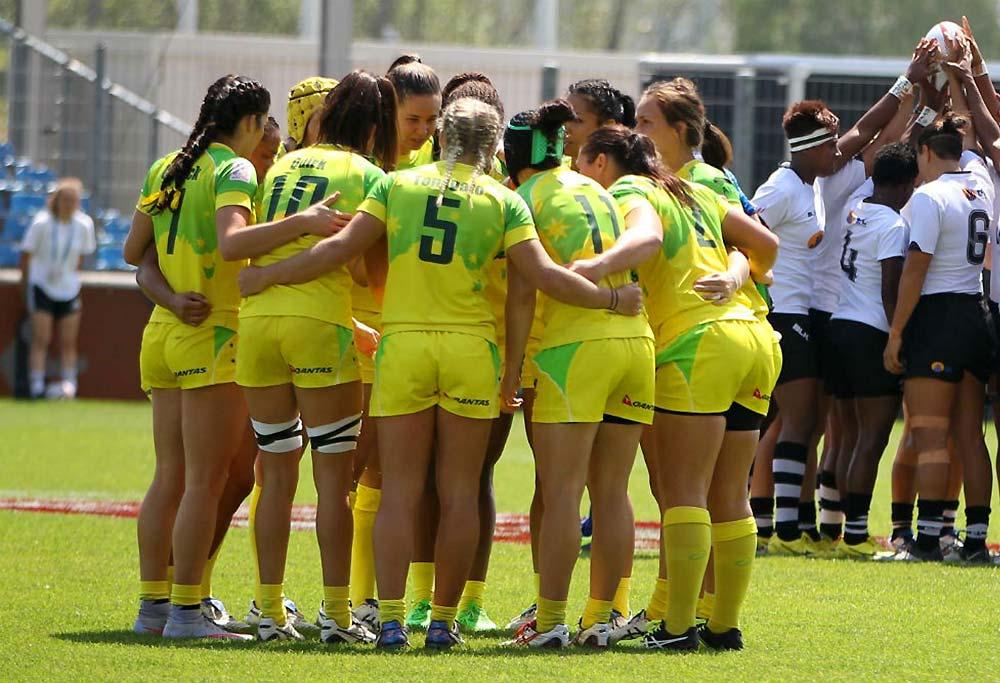 Australian Womens Sevens rugby team
