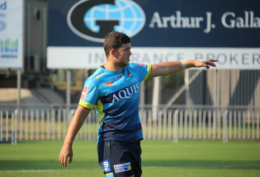 Gold Coast Titans player Ashley Taylor