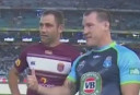 Origin coin toss <br /> <a href='http://www.theroar.com.au/2016/06/01/watch-gallen-flips-bizarre-origin-coin-toss/'>WATCH: What the flip? Confusion reigns at Origin coin-toss</a>