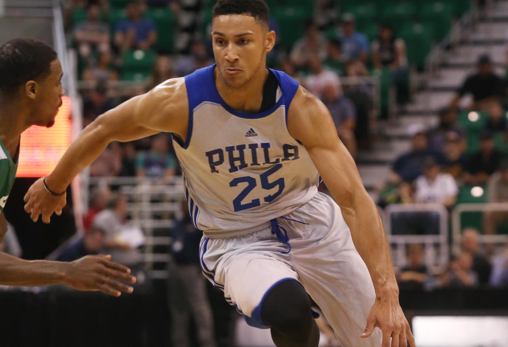 Ben Simmons impressive National Basketball Association debut in Philadelphia 76ers loss to Washington Wizards