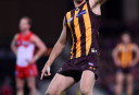 Jonathon Ceglar of the Hawks tall <br /> <a href='http://www.theroar.com.au/2016/07/19/the-anatomy-of-a-win-hawthorn/'>The anatomy of a win: Why hard-working Hawks keep getting lucky</a>
