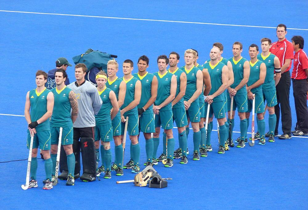 Australian men's hockey team London 2012
