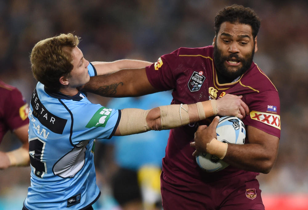 Sam Thaiday palms off