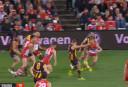 Sydney vs Hawks screenshot <br /> <a href='http://www.theroar.com.au/2016/07/19/the-anatomy-of-a-win-hawthorn/'>The anatomy of a win: Why hard-working Hawks keep getting lucky</a>
