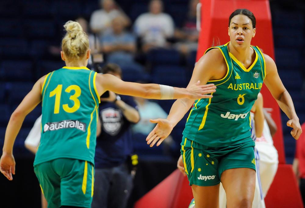 Elizabeth Cambage Basketball Australia Opals Rio 2016 Olympic Games