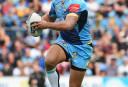 Jarryd Hayne Gold Coast Titans NRL Rugby League 2016 tall <br /> <a href='http://www.theroar.com.au/2016/08/07/hayne-back-plus-talking-points-nrl-weekend/'>Hayne is back! Plus other talking points from the NRL weekend</a>