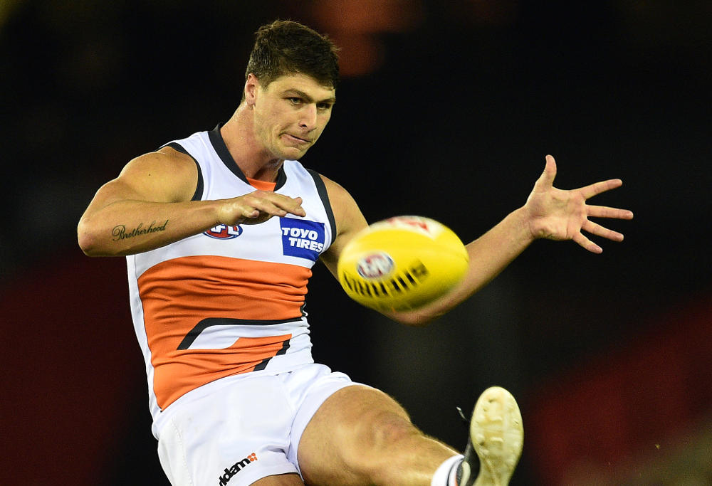 Jon Patton GWS Giants AFL 2016
