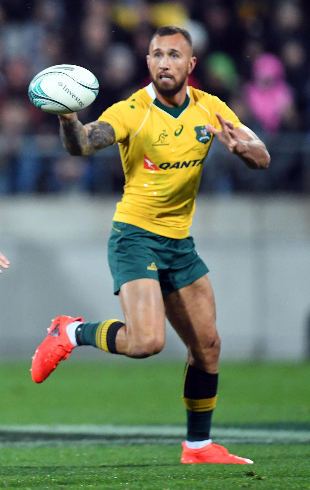 Quade Cooper Australia Rugby Union Wallabies Test Rugby Rugby Championship Bledisloe Cup 2016 tall