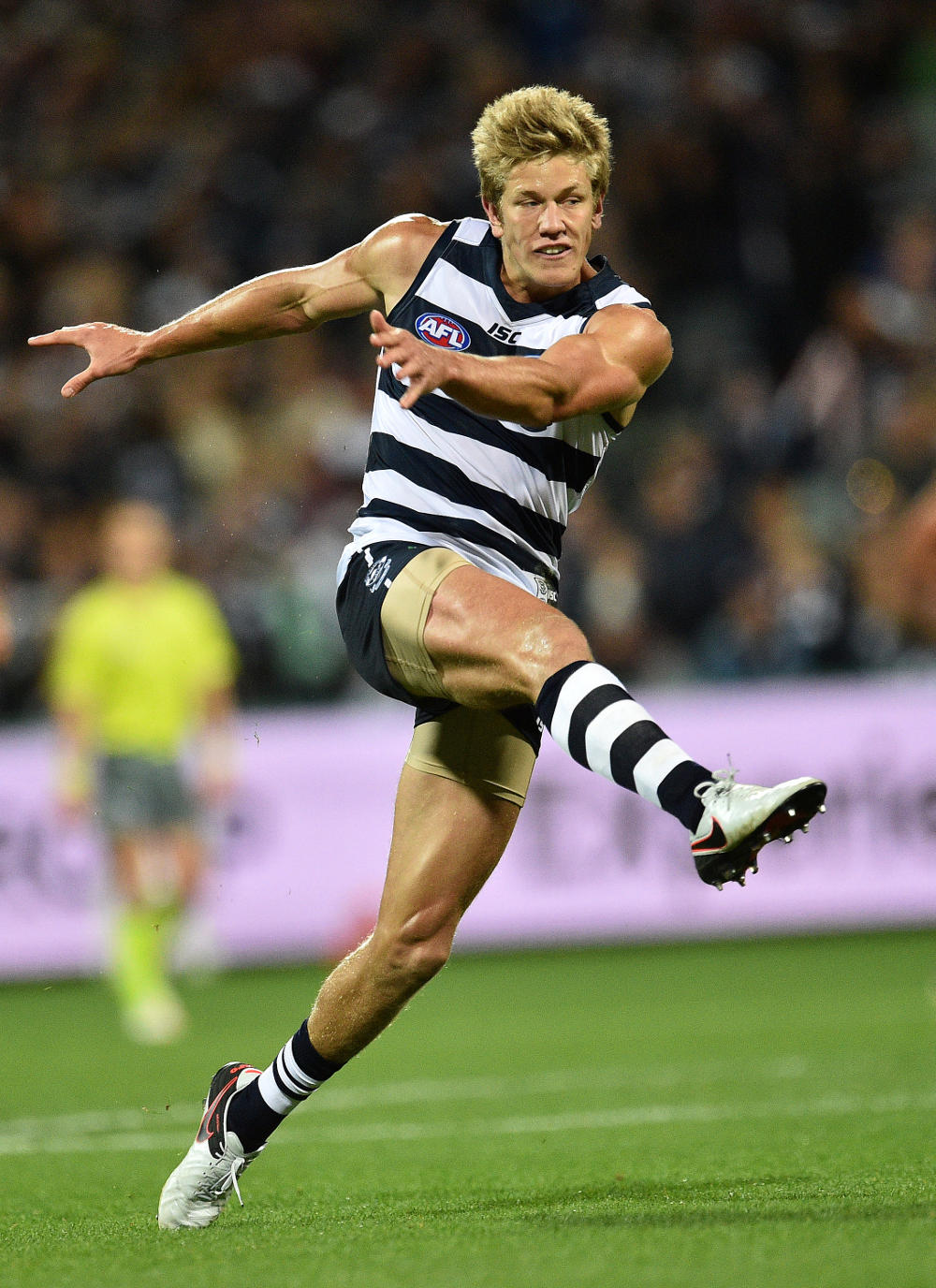Rhys Stanley Geelong Cats AFL 2016 tall