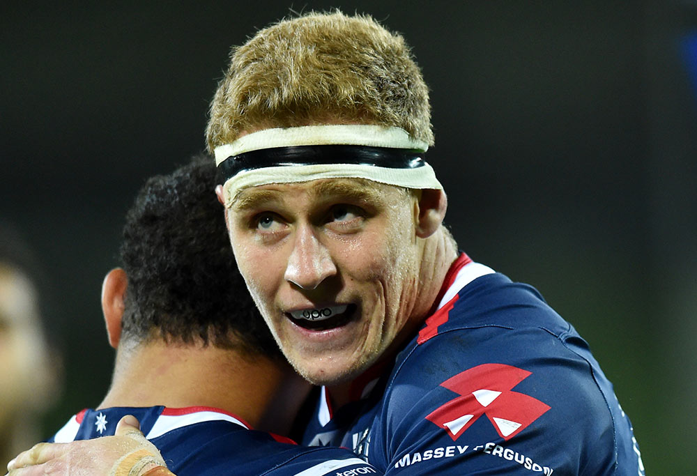 Reece Hodge of the Rebels