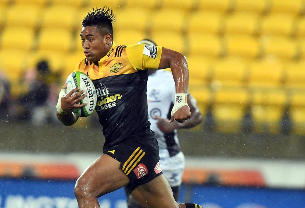 Julian Savea of the Hurricanes