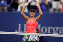 Kerber celebrates ascent to top of rankings with US Open title