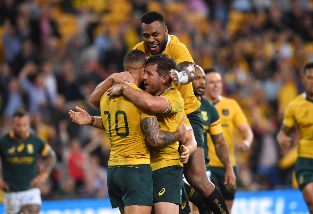Bernard Foley Wallabies Australia Rugby Union Test Rugby Championship 2016