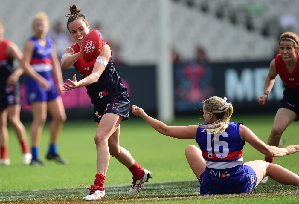 Daisy Pearce Melbourne Demons AFL Women NWL 2016