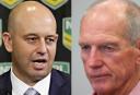 Greenberg v Bennett <br /> <a href='http://www.theroar.com.au/2016/09/02/453401/'>Bennett's Broncos are lucky: Greenberg</a>