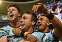 James Maloney Cronulla Sharks NRL Finals 2016 Rugby League <br /> <a href='http://www.theroar.com.au/2016/09/23/cronulla-decider-32-20-win-cowboys/'>Highlights: Cronulla into decider with 32-20 win over Cowboys</a>