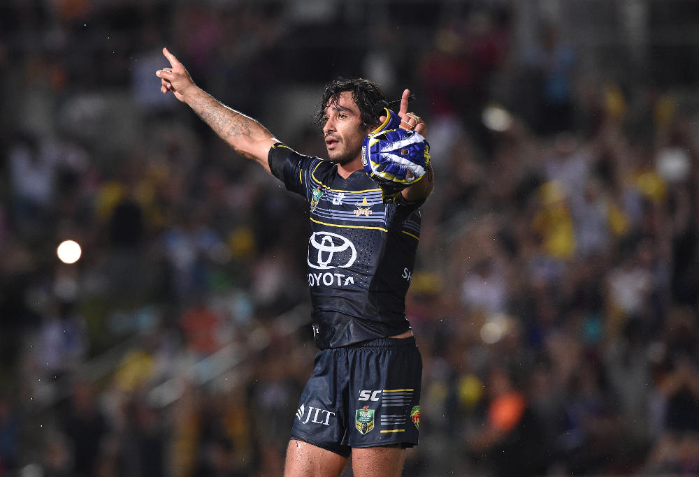 Johnathon Thurston North Queensland Cowboys Rugby League NRL Finals 2016