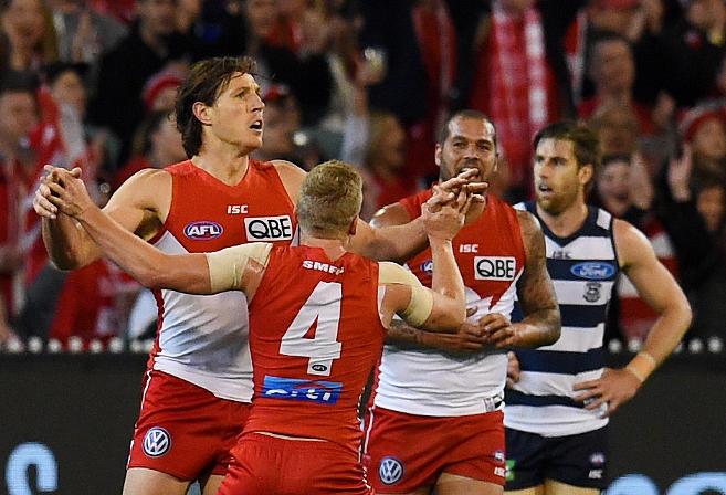 Kurt Tippett Sydney Swans AFL 2016