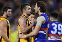 Hawthorn Hawks vs Western Bulldogs Highlights: AFL live scores, blog