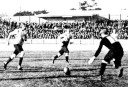 Action from the mid-week game between NSW and (amateur) All Blacks 1907. Photo: The Sydney Mail and New South Wales Advertiser