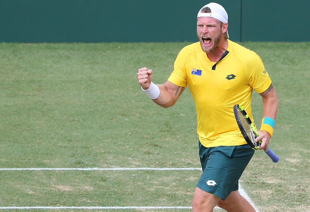 Australia beats USA to reach Davis Cup semifinals