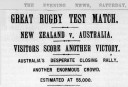 The Evening News Sat 20 July <br /> <a href='http://www.theroar.com.au/2016/09/08/all-blacks-all-blues-all-golds-the-birth-of-australian-rugby-league/'>All Blacks, All Blues, All Golds: The birth of Australian Rugby League</a>
