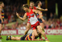 Swans pip 'Dons by a point in thriller