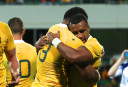 Will Genia Wallabies Australia Rugby Union Test Championship 2016 <br /> <a href='http://www.theroar.com.au/2016/09/17/highlights-genia-cooper-lead-wallabies-to-second-win-on-the-trot/'>Highlights: Genia, Cooper lead Wallabies to second win on the trot</a>