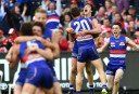 bulldogscelebrate <br /> <a href='http://www.theroar.com.au/2016/10/13/the-exorcists-how-the-western-bulldogs-beat-history/'>The Exorcists: How the Western Bulldogs beat history</a>