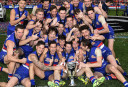 bulldogscelebrating4 <br /> <a href='http://www.theroar.com.au/2016/10/13/the-exorcists-how-the-western-bulldogs-beat-history/'>The Exorcists: How the Western Bulldogs beat history</a>