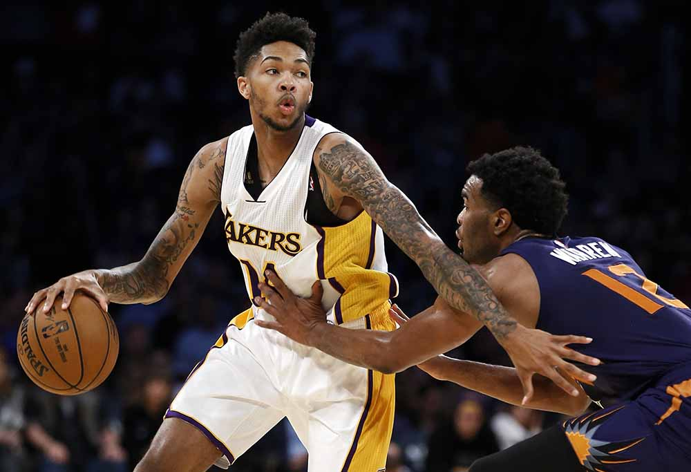Brandon Ingram for the LA Lakers